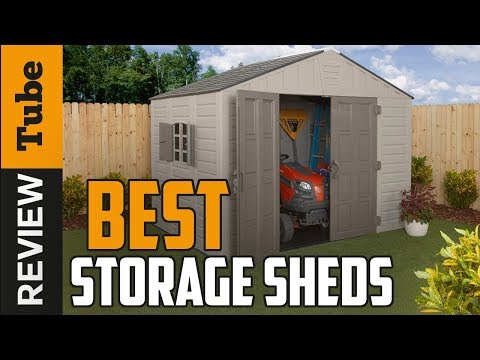 ✅ Storage Shed: Best Storage Sheds 2019 (Buying Guide)