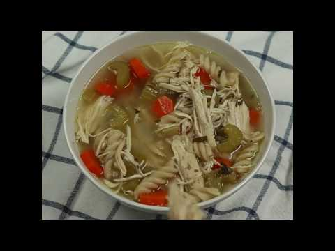 Slow Cooker Chicken Noodle Soup (Gluten Free)