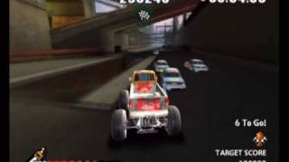 Monster Stunt Racer 4x4 (Wii) Car Crusher Race: West Side Steelworks