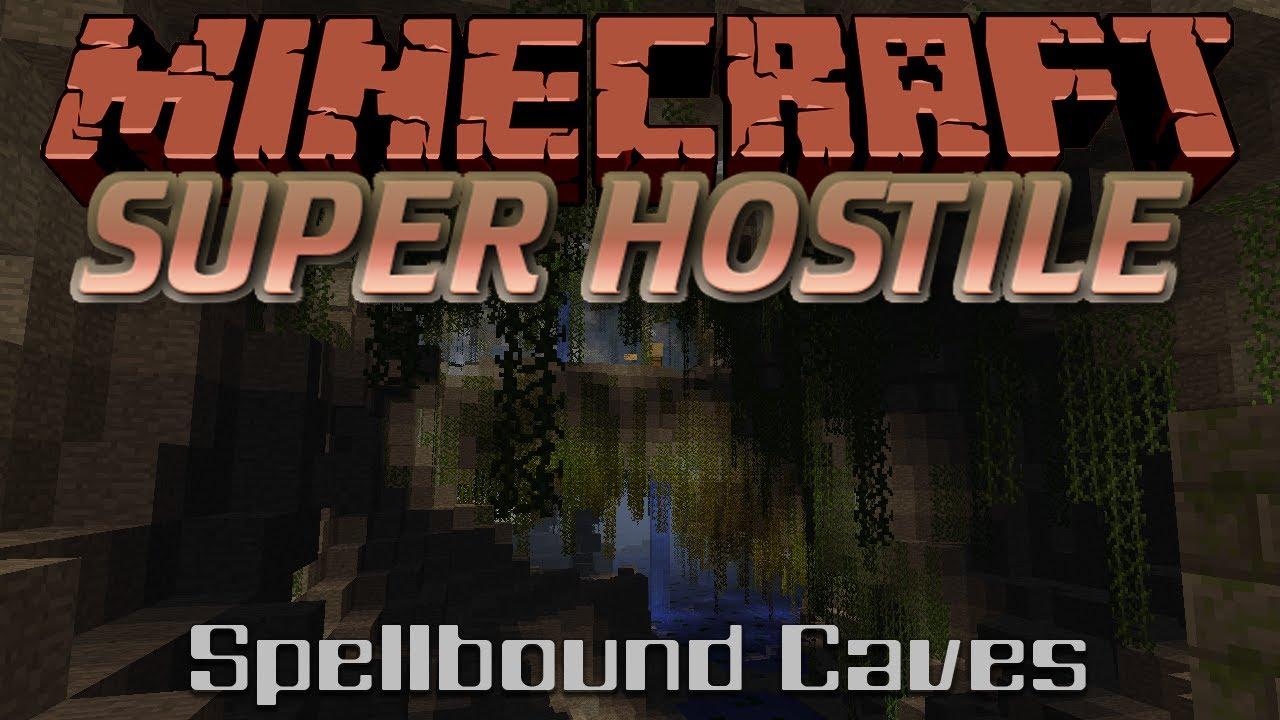 Super Hostile Spellbound Caves