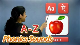 Phonics Sounds in Hindi | A to Z Alphabets with Phonics Sounds | School Learning | Pebbles Live