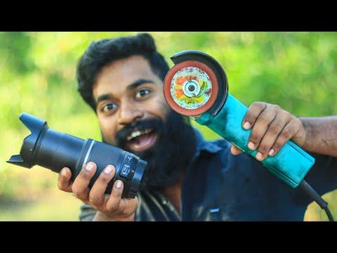 What's Inside A Camera Lens | ക്യാമറ ലെൻസ് മുറിച്ചു നോക്കിയപ്പോൾ | M4 TECH |