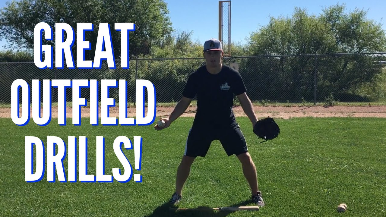 3 Great Baseball Outfield Drills For Youth Players Youtube