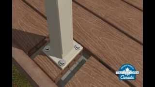 Composite Deck Building - Railings