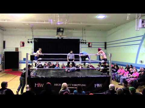 Leo London & Jay Walker vs Dixie Dragon & Jacob Creed March 21/15 Melville, Sask.