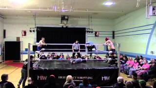 Leo London & Jay Walker vs Dixie Dragon & Jacob Creed March 21/15 Melville, Sask.