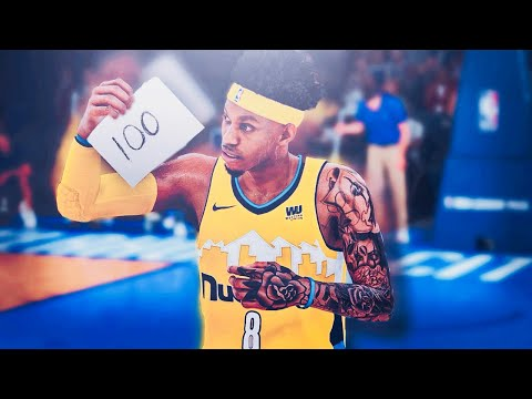 Breaking 100 Point Game Record | Half Court Shot In Westbrook Face | NBA 2k18 Mycareer #34