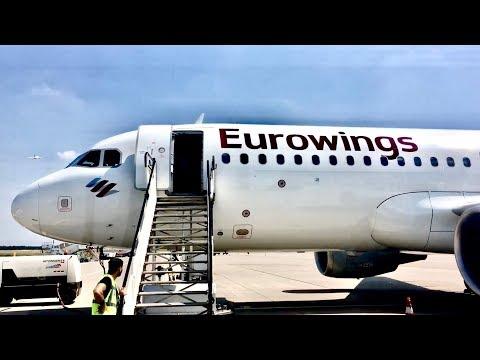 TRIP REPORT   Eurowings A320   Economy   Stockholm - Düsseldorf