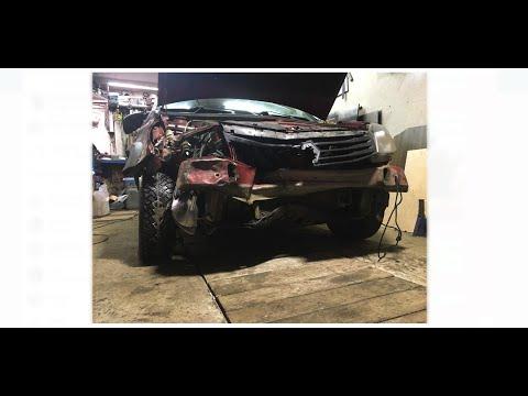 Renault Sandero Stepwa. Обзор повреждений или как ни у кого и ни когда не ведёт лонжероны