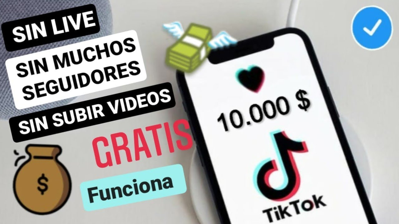 Como Ganar Dinero En Tik Tok Con Pocos Seguidores Sin Live Gratis Facil Crecer En Tik Tok 2020 Youtube