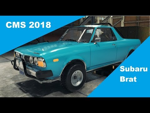 Car Mechanic Simulator 2018 - Subaru Brat