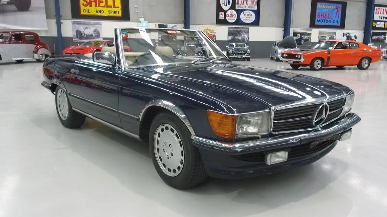 1986 Mercedes-Benz 560SL Convertible -  2020 Shannons Autumn Timed Online Auction