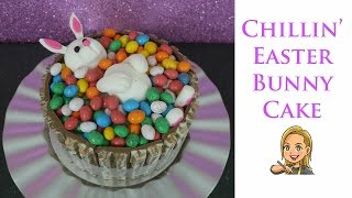 Chillin Easter Bunny Cake
