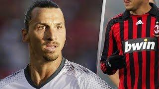 Mira lo que hizo Zlatan cuando conoció a su único ídolo