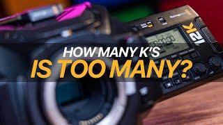 URSA Mini Pro 12K: How Many K's is TOO MANY?!
