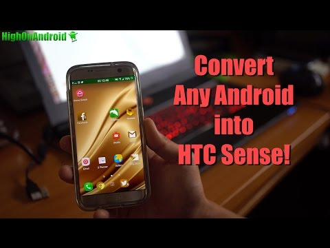 How to Convert Any Android to HTC Sense! [HTC Sense Home Beta APK]