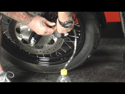 How To Bleed Motorcycle Brakes By J&P Cycles