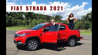 Conheça a Nova Fiat Strada 2021 - com Emilio e Camila Camanzi
