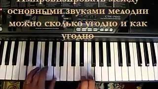Ноты 21 го века Облегчённая форма обучения на пианино