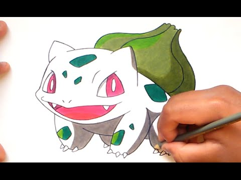 Cómo dibujar a Bulbasaur (Pokemon Go) - How to draw Bulbasaur ...