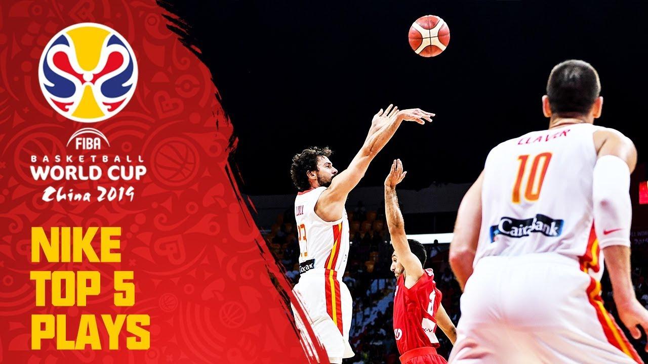 Nike Top 5 Plays | Day 5 | ft. Gasol, Mejri & More! | FIBA Basketball World Cup 2019
