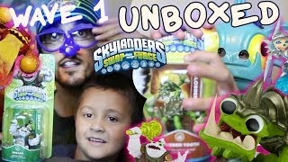 Skylanders Swap Force Unboxing (Part 5) Zoo Lou, Slobber Tooth, Blizzard Chill & Lava Barf Eruptor