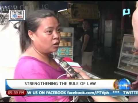 NewsLife: Strengthening the rule of law || August 14, 2013