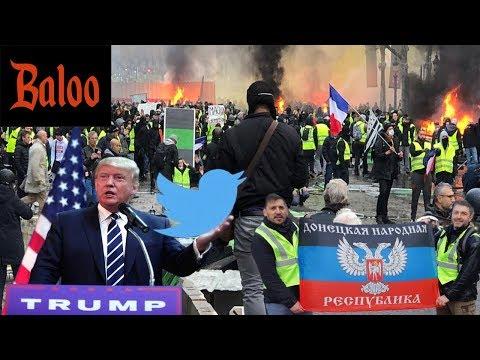 Протесты во Франции и при чём тут Россия и США?