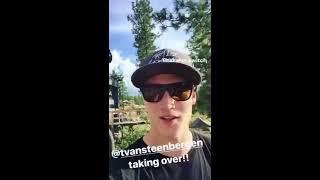 Tom Van Steenbergen JBL Instagram Takeover