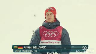 Andreas Wellinger - Olympiasieger 2k18