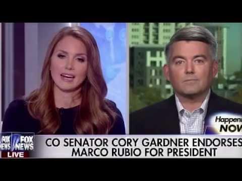 Senator Cory Gardner Endorses Marco For President