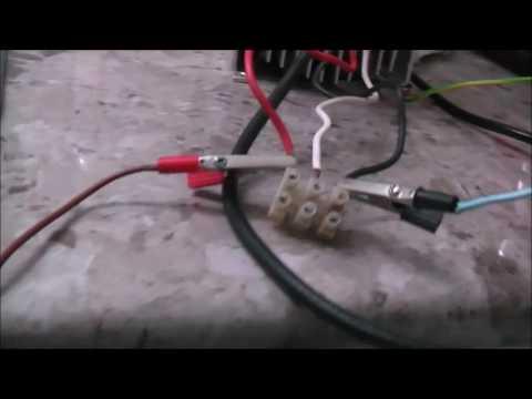 Vfd on single phase motors kettle youtube for Single phase motor vfd