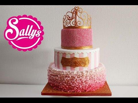 Prinzessin Torte zum 1 Geburtstag  Mdchen  First