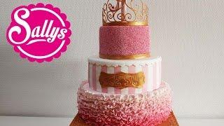 """""""Prinzessin"""" Torte zum 1. Geburtstag / Mädchen / First Birthday Cake Girl / Princess"""