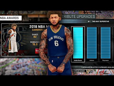 ATTRIBUTE UPDATE #6 | END OF SEASON AWARDS,  LEAGUE LEADERS, AND MORE! - NBA 2K16 MyCAREER S3