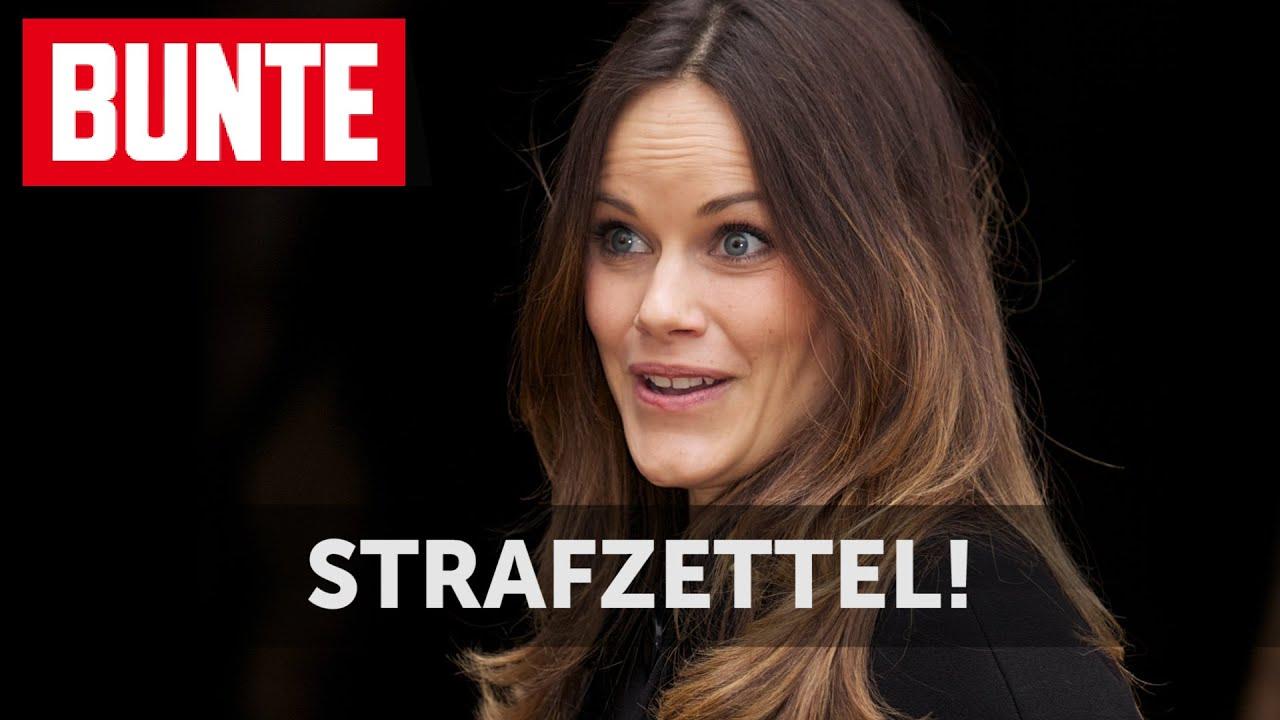 Sofia von Schweden: Strafzettel!  - BUNTE TV
