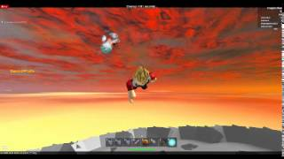 Epic sky fight! (roblox)