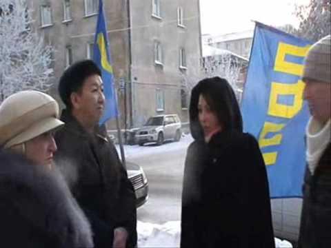 "Пикет За кридитную амнистию у Банка ""Русский стандарт"""