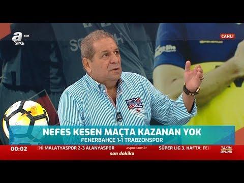 Fenerbahçe 1 - Trabzonspor 1 Erman Toroğlu Maç Sonu Yorumları / A spor