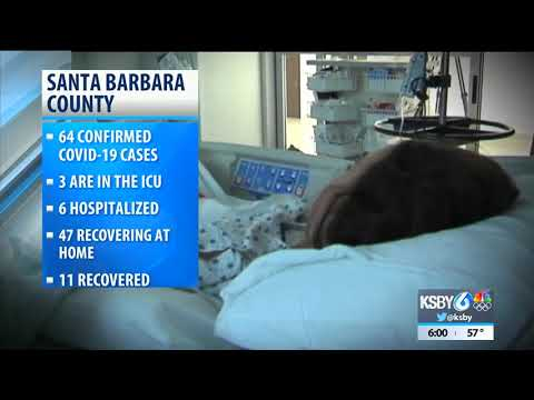 64 Cases Of COVID-19 Reported In Santa Barbara County