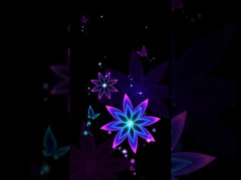 colorful flower animated youtube
