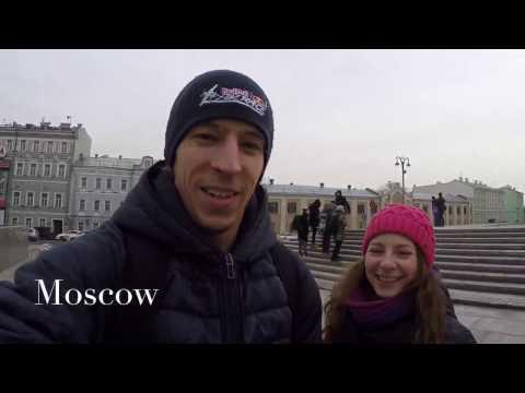 Trip VLOG Moscow St.Petersburg Minsk Kiev 2017 | GoPro | Diving