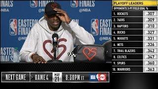 Paskal Siakam postgame reaction | Raptors vs Bucks Game 3 | 2019 NBA Playoffs