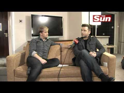 Westlife's Kian Egan interviews Mark Feehily on  The Sun  Showbiz Bizarre