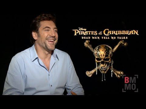 Javier Bardem Interview - Pirates of the Caribbean: Dead Men Tell No Tales
