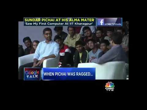 Google Talk: Sundar Pichai At His Alma Mater, IIT Kharagpur- Part 1