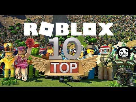 Top 10 Mejores Juegos De Roblox 2018 Abril Youtube