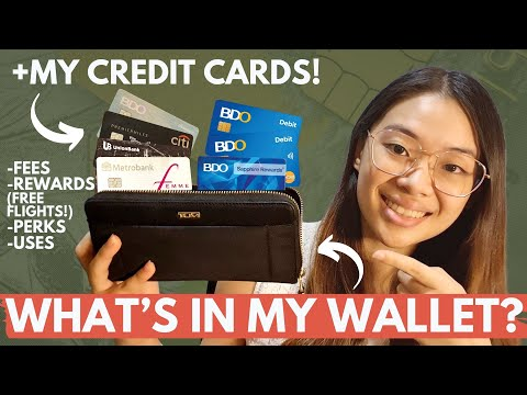 WHAT'S IN MY WALLET 2020 + MY CREDIT CARDS 💳| Metrobank, Unionbank, Citibank, BDO | Credit Cards Ph