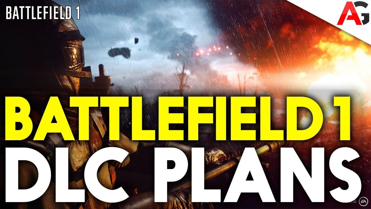 battlefield 1 dlc plans