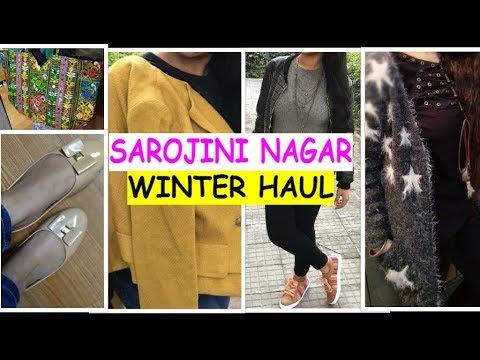 SAROJINI NAGAR SHOPPING HAUL | TRY-ON WINTER HAUL 2018 | BEST BOYS AND GIRLS CLOTHING